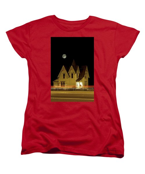 Night View Women's T-Shirt (Standard Cut) by Tony Locke