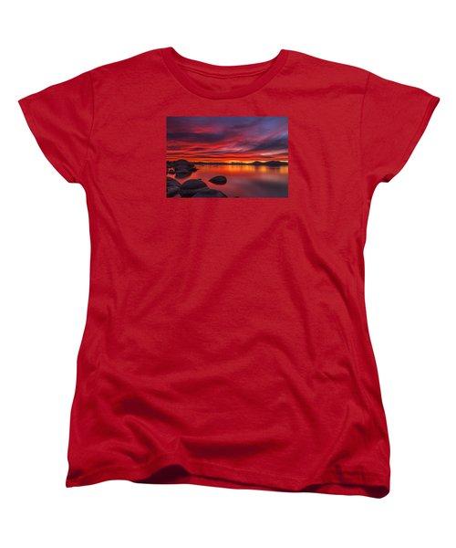 Nightfall Women's T-Shirt (Standard Cut) by Marc Crumpler