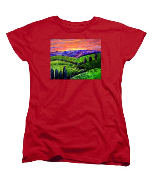 No Place Like The Hills Of Tennessee Women's T-Shirt (Standard Cut) by Kimberlee Baxter