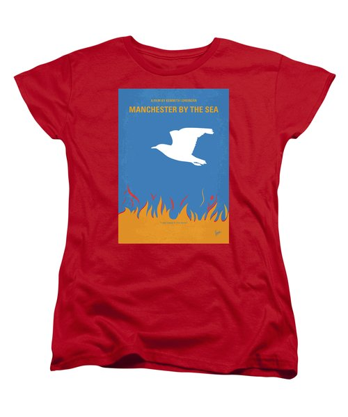Women's T-Shirt (Standard Cut) featuring the digital art No753 My Manchester By The Sea Minimal Movie Poster by Chungkong Art
