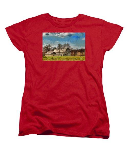 Norman's Homestead Women's T-Shirt (Standard Cut) by Trish Tritz