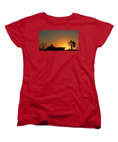 North Beach Sunset Women's T-Shirt (Standard Cut) by Thomas OGrady
