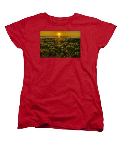 Nova Scotia Dreaming Women's T-Shirt (Standard Cut) by Will Burlingham