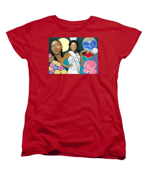 Nubian Princess Women's T-Shirt (Standard Cut) by Angelo Thomas