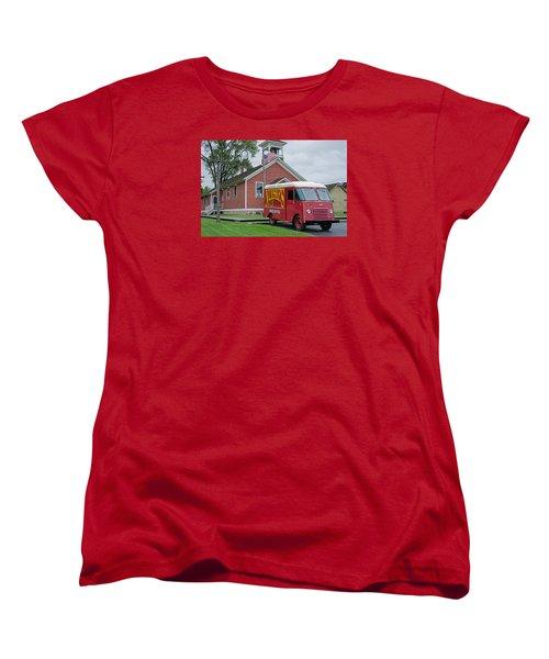 Nueske Meat Store Women's T-Shirt (Standard Cut) by Susan  McMenamin