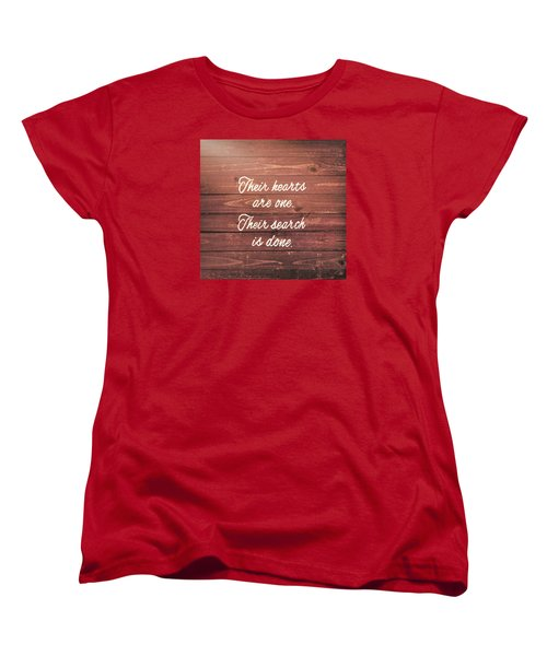Nuptial Note Women's T-Shirt (Standard Cut) by JAMART Photography