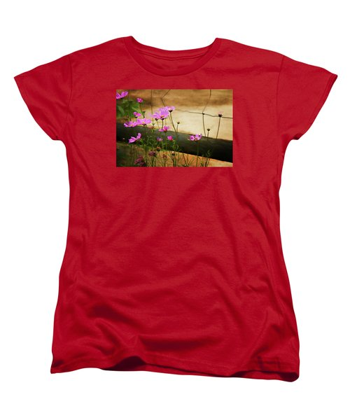 Women's T-Shirt (Standard Cut) featuring the photograph Oasis In The Desert by Lana Trussell