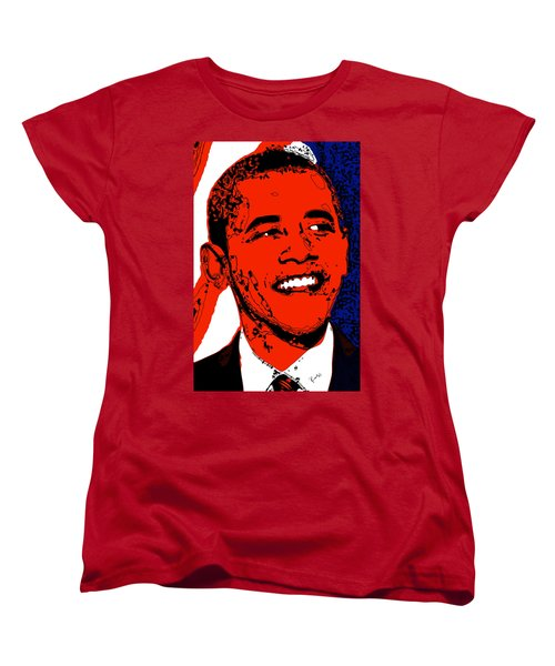 Obama Hope Women's T-Shirt (Standard Cut) by Rabi Khan