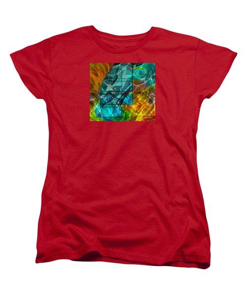 Ocean Doors Women's T-Shirt (Standard Cut) by Allison Ashton