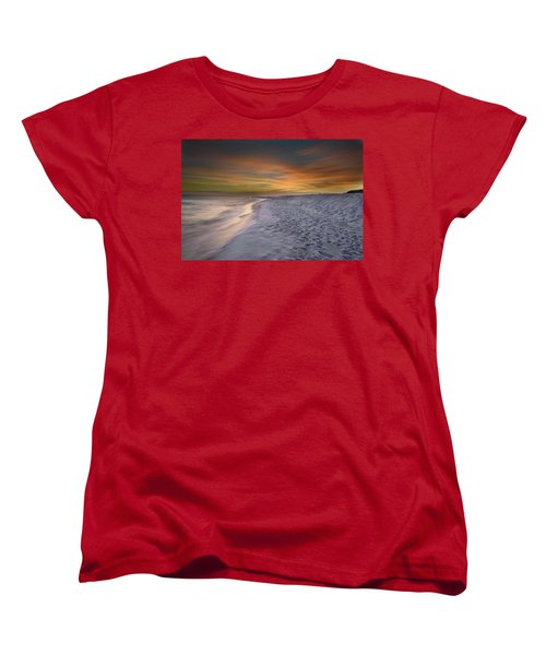 Women's T-Shirt (Standard Cut) featuring the photograph October Night by Renee Hardison