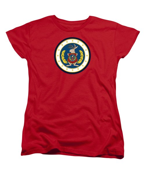 Official Odd Squad Seal Women's T-Shirt (Standard Cut) by Odd Squad