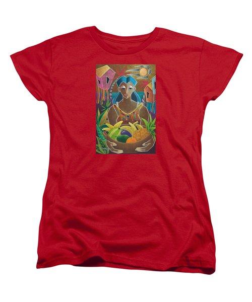 Ofrendas De Mi Tierra Women's T-Shirt (Standard Cut) by Oscar Ortiz