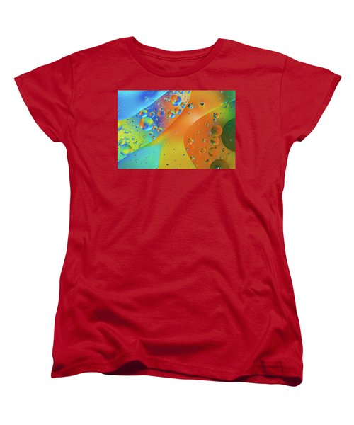 Oil And Water 10 Women's T-Shirt (Standard Cut) by Jay Stockhaus
