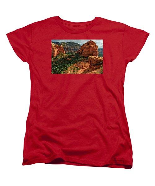Olaf 06-32 Women's T-Shirt (Standard Cut) by Scott McAllister