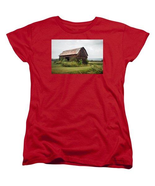 Old Barn On Seneca Lake - Finger Lakes - New York State Women's T-Shirt (Standard Cut)