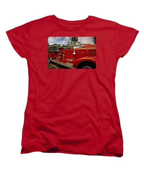 Women's T-Shirt (Standard Cut) featuring the photograph Old Number 3 by Marty Koch
