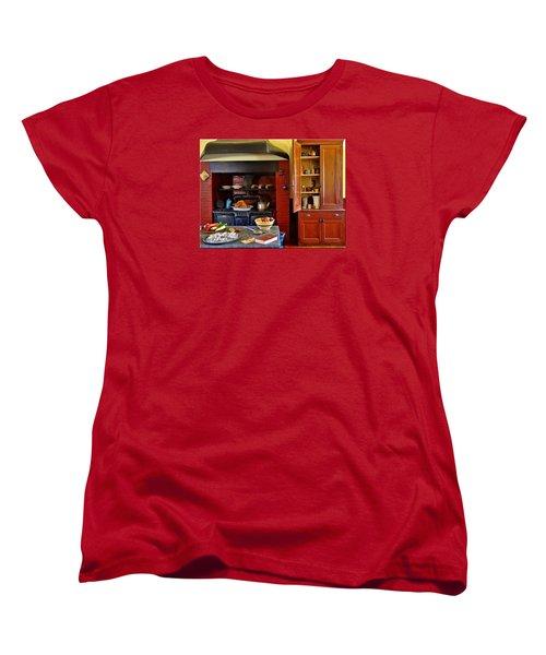 Old Time Kitchen Women's T-Shirt (Standard Cut) by Mikki Cucuzzo