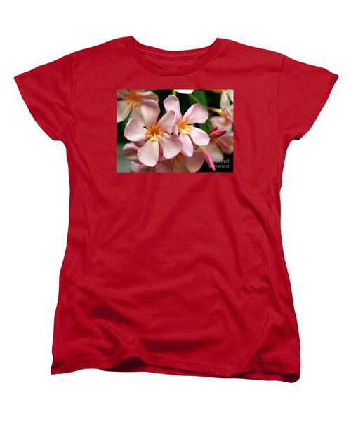 Women's T-Shirt (Standard Cut) featuring the photograph Oleander Dr. Ragioneri 2 by Wilhelm Hufnagl