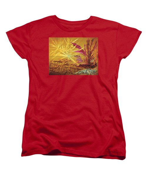 Olivier Messiaen Landscape Women's T-Shirt (Standard Cut) by Charles Cater