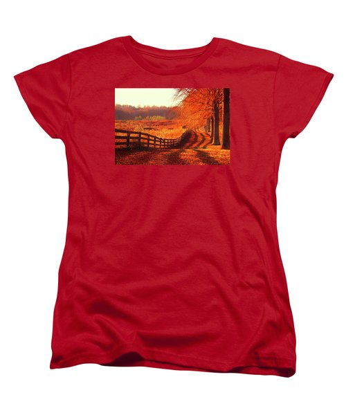 On A Day Like Today Women's T-Shirt (Standard Cut) by Iryna Goodall