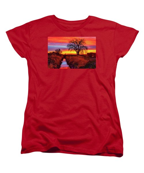 On The Horizon Women's T-Shirt (Standard Cut) by Greg Norrell