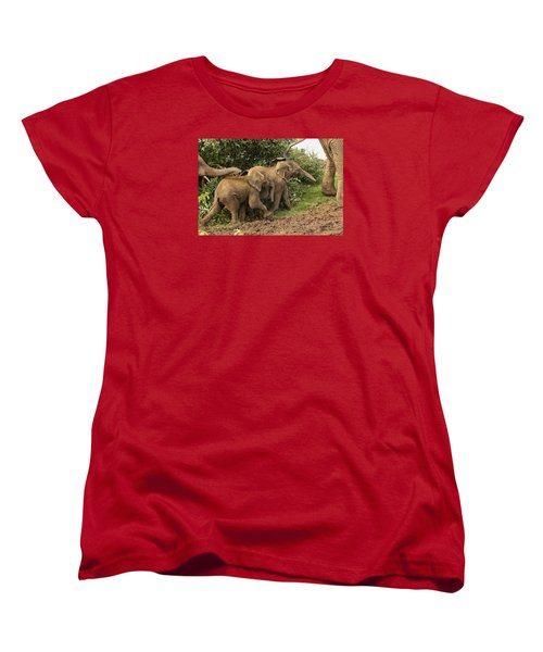 Women's T-Shirt (Standard Cut) featuring the photograph On The March by Gary Hall