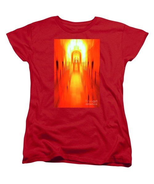 Women's T-Shirt (Standard Cut) featuring the photograph On The Way To Death Row by Paul W Faust - Impressions of Light