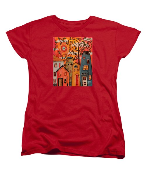 One Afternoon Women's T-Shirt (Standard Cut) by Karla Gerard