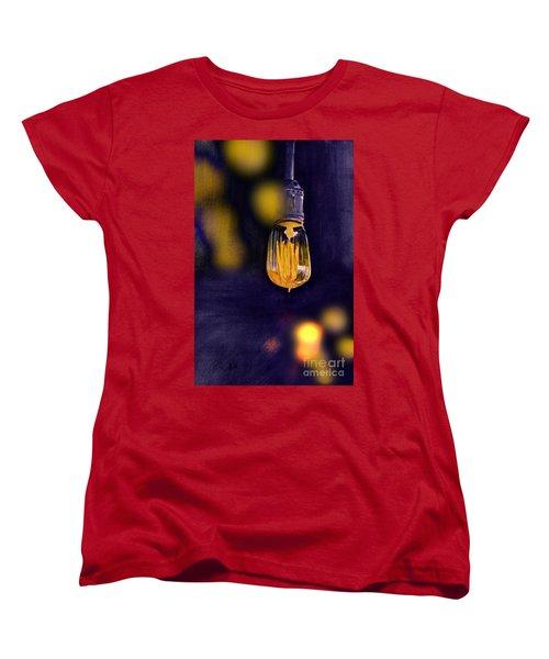 One Light Women's T-Shirt (Standard Cut) by Allison Ashton