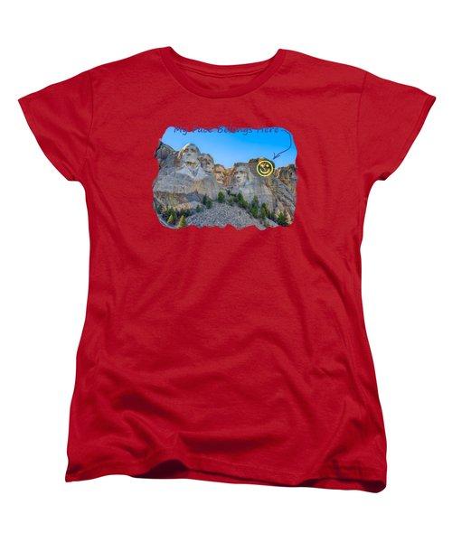 One More Women's T-Shirt (Standard Cut) by John M Bailey