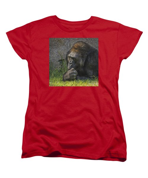 One Of These Days Alice Women's T-Shirt (Standard Cut) by Mitch Shindelbower