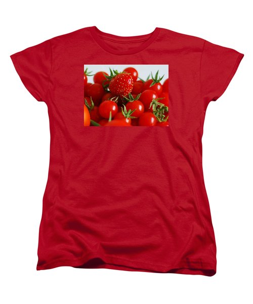 One Of These Things Is Not Like The Other Women's T-Shirt (Standard Cut) by Lisa Phillips