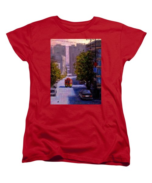 One Quiet Afternoon In San Francisco.. Women's T-Shirt (Standard Cut) by Cristina Mihailescu