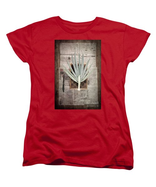 Women's T-Shirt (Standard Cut) featuring the photograph Onion by Linda Lees