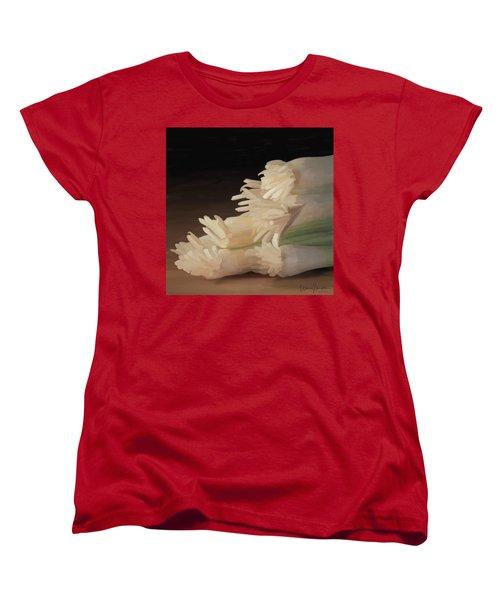 Onions 01 Women's T-Shirt (Standard Cut) by Wally Hampton