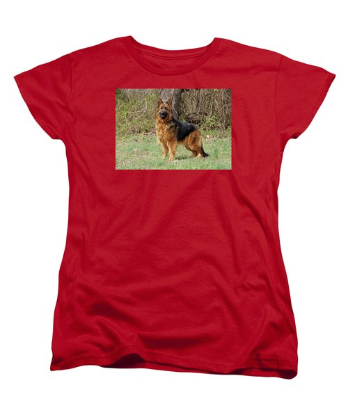 Women's T-Shirt (Standard Cut) featuring the photograph Onja by Sandy Keeton