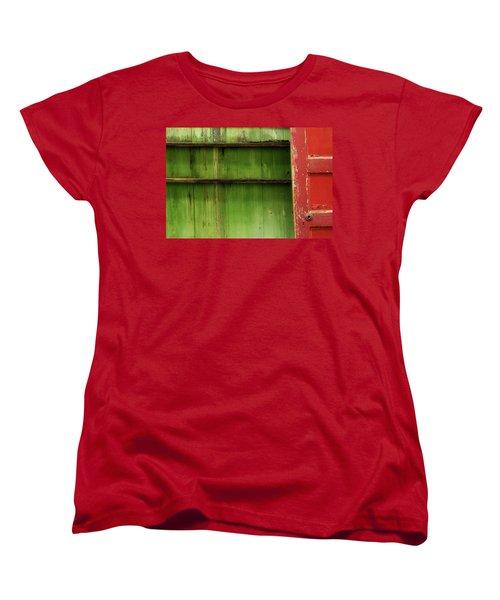 Women's T-Shirt (Standard Cut) featuring the photograph Open Door by Mike Eingle