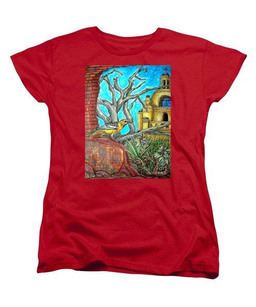 Opposing Points Of View Women's T-Shirt (Standard Cut) by Kim Jones