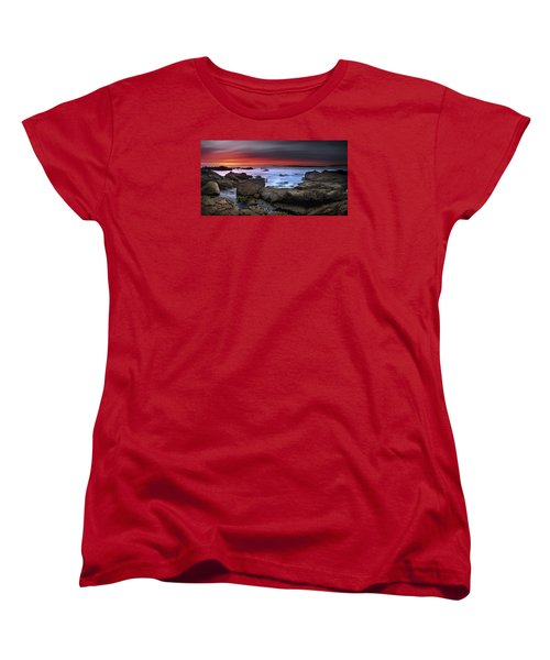 Women's T-Shirt (Standard Cut) featuring the photograph Opposites Attract by John Chivers
