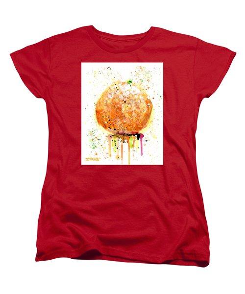Orange 2 Women's T-Shirt (Standard Cut) by Arleana Holtzmann