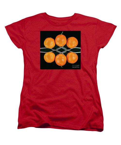 Orange Balance Women's T-Shirt (Standard Cut)