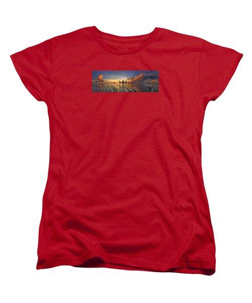 Orange Panorama Women's T-Shirt (Standard Cut)