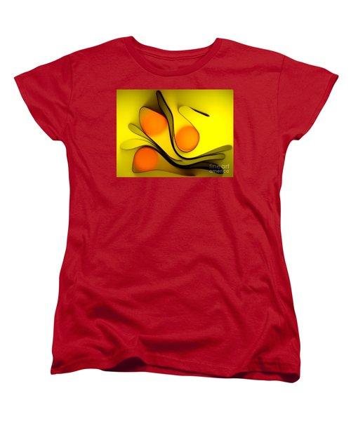 Oranges Women's T-Shirt (Standard Cut) by Trena Mara