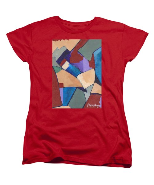 Organic Abstract Series II Women's T-Shirt (Standard Cut) by Patricia Cleasby