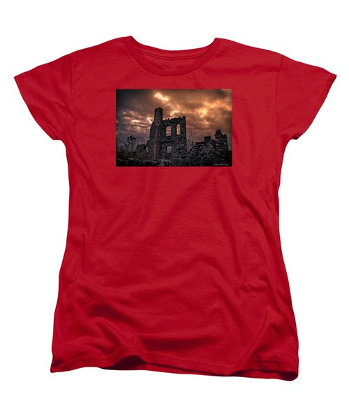 Osler Castle Women's T-Shirt (Standard Cut) by Michaela Preston