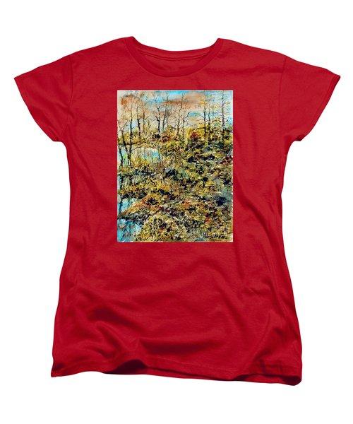 Outside Trodden Paths Women's T-Shirt (Standard Cut)