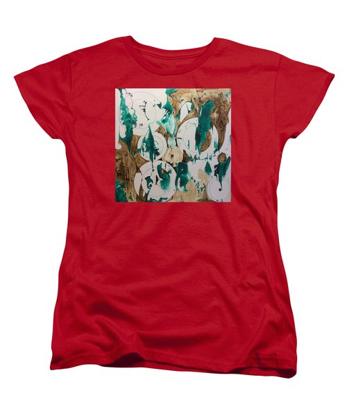 Over And Under Women's T-Shirt (Standard Cut) by Pat Purdy