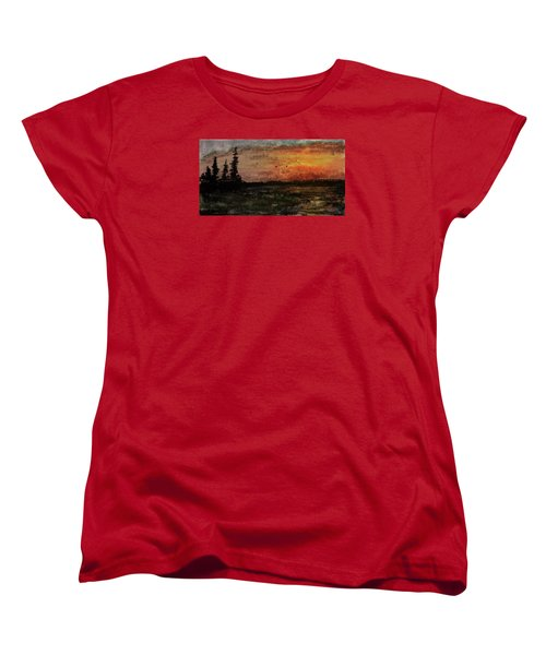 Over Nowhere North Women's T-Shirt (Standard Cut) by R Kyllo