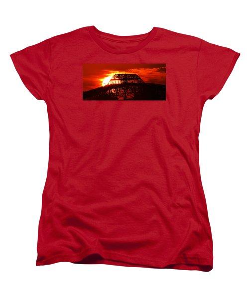 Over The Hump Women's T-Shirt (Standard Cut) by John Glass
