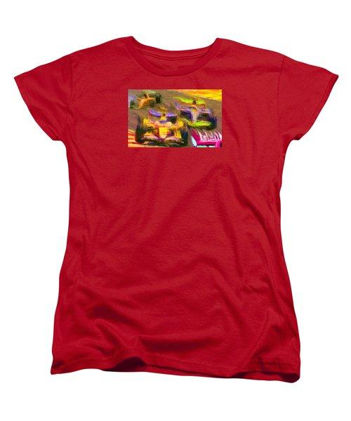 Overtaking Women's T-Shirt (Standard Cut) by Caito Junqueira